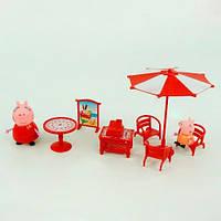 """Набор мебели """"Свинка Пеппа на отдыхе"""" (Peppa pig)"""