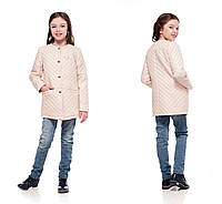 Детские куртки и плащи для девочек стильные