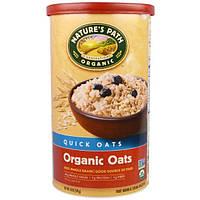 Country Choice Organic, Органические овсяные хлопья быстрого приготовления Naturess Path, 18 oz (510 г)
