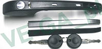 VW Jetta 74-91 ручка двери внешняя правая с ключами