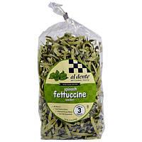 Al Dente Pasta, Spinach Fettuccine, 12 oz (341 g)