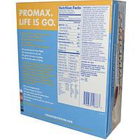 Promax Nutrition, Энергетические батончики со вкусом печенья и сливок, 12 шт. по 75г каждый