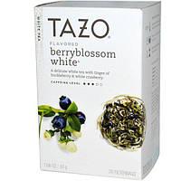 Tazo Teas, Ароматизированный белый чай из ягодного цвета, 20 фильтр-пакетов, 1,06 унции (30 г)