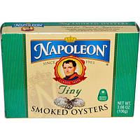 Napoleon Co., Крошечные копченые устрицы, 3,66 унций (106 г)