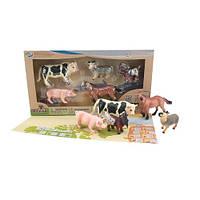 Набор домашние животные с QR-картой