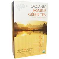 Prince of Peace, Органический, зеленый чай с жасмином, 100 чайных пакетиков, 1.8 шт.