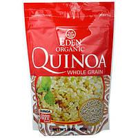 Eden Foods, Органическая цельнозерновая крупа киноа без глютена, 16унций (454г)