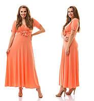 Женское красивое платье в пол больших размеров №928 (р. 48-62)