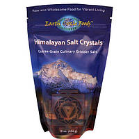 Earth Circle Organics, Кристаллы Гималайской Соли, 16 унций (454 г)