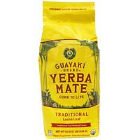 Guayaki, Мате, Листовой чай, 16 унций, (454 г)