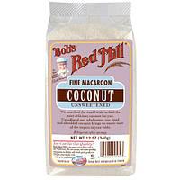Bobs Red Mill, Измельчнная кокосовая стружка для кулинарии и печенья без сахара, 12 унций (340 г)