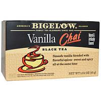 Bigelow, Ванильный Чай со специями, 20 чайных пакетиков, 1,64 унции (46 г)
