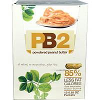 Bell Plantation, PB2, Порошковое арахисовое масло, 12 пакетиков, 0.85 унций каждый