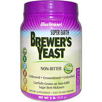 Bluebonnet Nutrition, Пивные дрожжи Super Earth, без вкуса, 2 фунта (908 г)