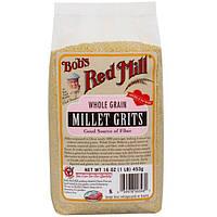 Bobs Red Mill, Цельное зерно проса мелкого помола, 16 унций (453 г)