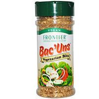 Frontier Natural Products, Бекон, приправа для вегетарианцев, 2,47 унции (70 г)
