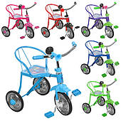 Детский велосипед BAMBI 3-х колесный, железная рама