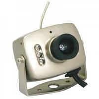 Мини-камера CAMERA 208 (200), цветная камера видеонаблюдения с микрофоном