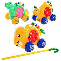 Игрушка-каталка на палке (3 вида) (0331/32/33)