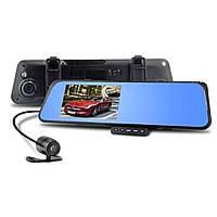 Автомобильная камера DVR 138W зеркало заднего вида с видеорегистратором (с двумя камерами) (25)