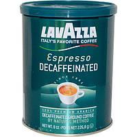 LavAzza Premium Coffees, Молотый кофе без кофеина, эспрессо, 8 унций (226,8 г)