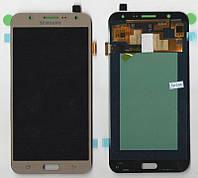 Дисплей + сенсор Samsung J700H ORG Galaxy J7 (Gold) Original Taiwan Super AMOLED