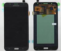 Дисплей + сенсор Samsung J700H ORG Galaxy J7 BLACK Original Taiwan Super AMOLED