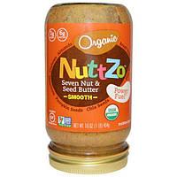 Nuttzo, Органическое масло из семи орехов и семечек, нежное, топливо для производства энергии, 16 унций (454 г)