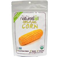 Natierra Natures All , Foods, Сублимированная органическая кукуруза , 2.3 унций (65 г)