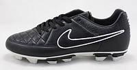 Кроссовки подростковые беговые, для бега с шипами Nike (Найк) Black 35-40 рр.