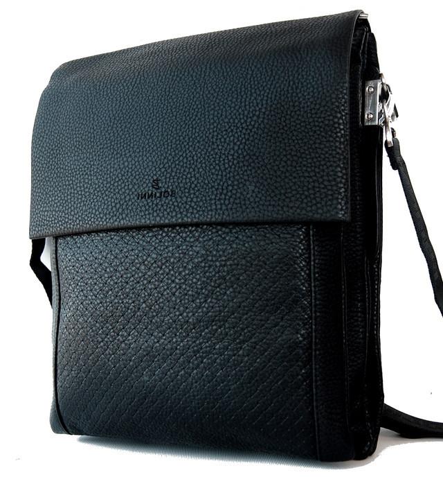 Мужская сумка-портфель Bolinni. Мужская сумка-портфель. Мужской портфель. Стильный портфель.