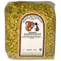 Bergin Fruit and Nut Company, Обжаренные и подсоленные тыквенные семечки, 14 унций