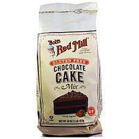 Bobs Red Mill, Смесь для тортов с шоколадом и без глютена, 16 унций (453 г)