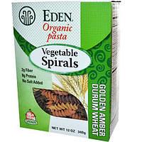 Eden Foods, Органические макароны, растительные спирали, 340 г