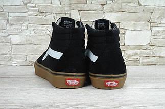 Кеды Vans Old Skool high Ski8-Hi Pro SMU Sneakers, (унисекс), vans old school, ванс олд скул, фото 3
