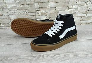 Мужские кеды Vans Old Skool high Ski8-Hi Pro SMU Sneakers, vans old school, ванс олд скул, фото 3
