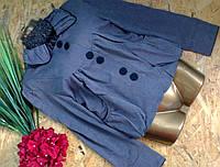 Пиджак пальто MINION серый 2353 46-48р
