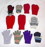 Варежки и перчатки для детишек от 1 до 8 лет