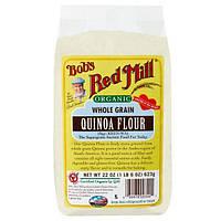 Bobs Red Mill, Натуральная мука из цельных зерен киноа, 22 унции (623 г)