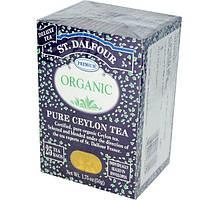 St. Dalfour, Органический цейлонский чай, 25 пакетиков, 1,75 унции (50 г)
