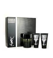 Yves Saint Laurent L'Homme  Set (Edt 100ml+Deo stick 75ml+Shower gel