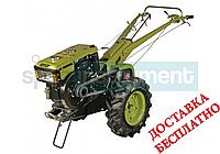 Мотоблок дизельный КЕНТАВР МБ 1010-3 в комплекте почвофреза и плуг