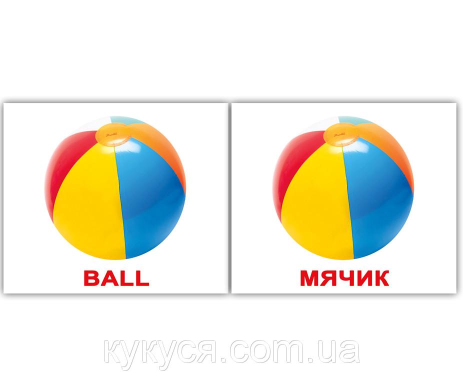Комплект карточек «Toys/Игрушки» МИНИ 40