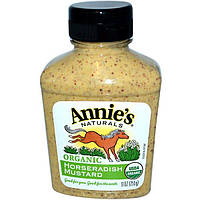 Annies Naturals, Горчица из хрена, Органический продукт 9 унций (255 г)