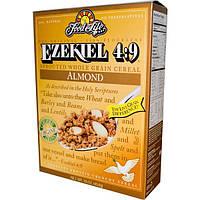 Food For Life, Ezekiel 4:9, Каша из пророщенных злаков с миндалем, 16 унций (454 г)