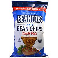 Beanitos, Фасолевые чипсы Pinto, Просто Pinto, 6 oz (170 г)