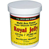 Y.S. Eco Bee Farms, Маточное молочко, 11,5 унций (326 г)
