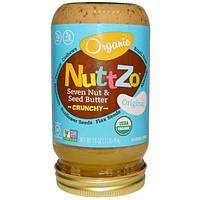 Nuttzo, Органическое масло Семь орехов и семян, оригинальное, хрустящее, 16 унций (454 г)
