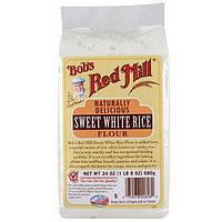 Bobs Red Mill, Мука из сладкого белого риса, 24 унций (680 г)