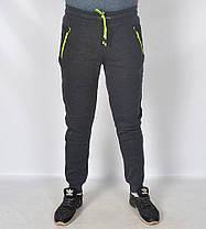 Штаны спортивные тёплые байковые , фото 2